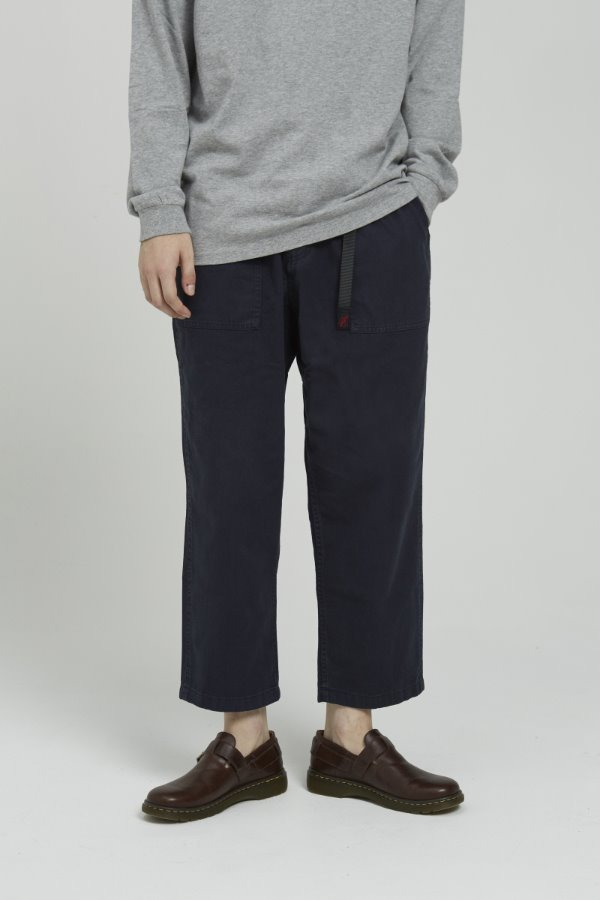 LOOSE TAPERED PANTS DOUBLE NAVY