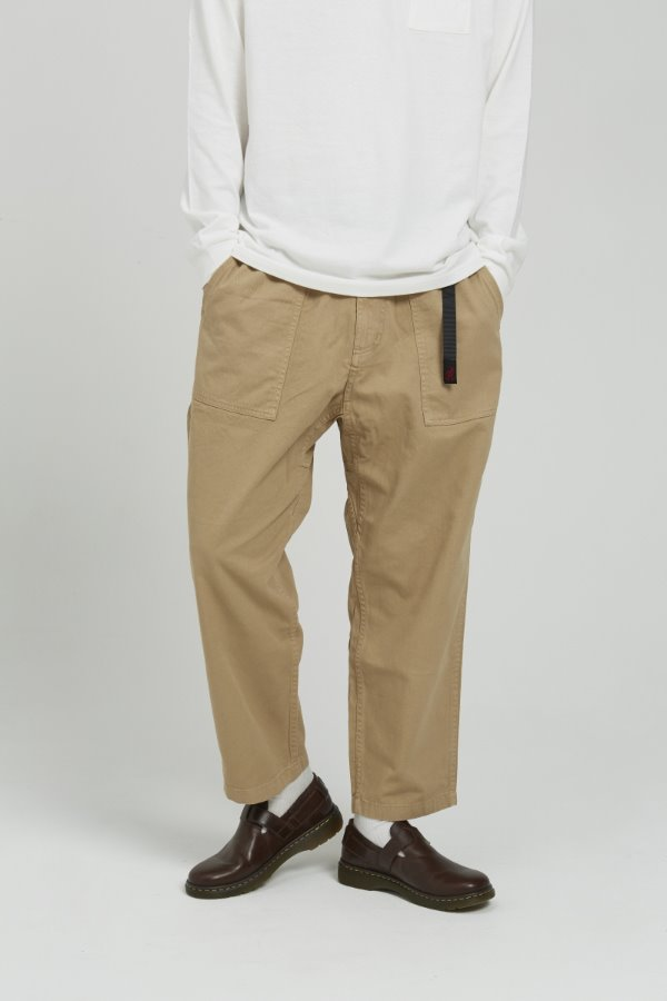 LOOSE TAPERED PANTS CHINO